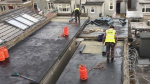 repair on flat roof in dublin